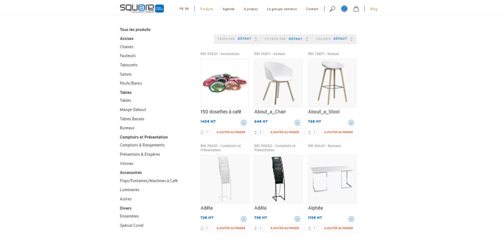 03 selection produits